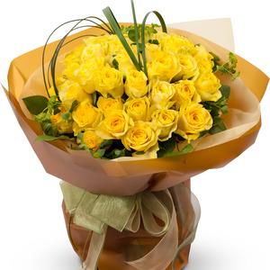 노랑장미 꽃다발 2호