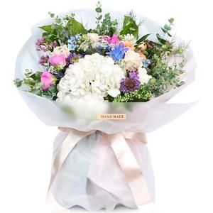 수국혼합 꽃다발