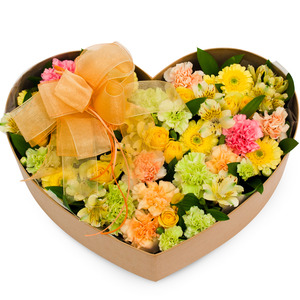 리시안혼합꽃박스